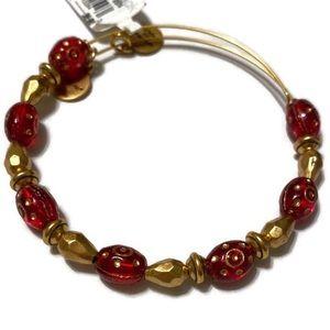 Alex and Ani Crimson Radiance Beaded Bracelet